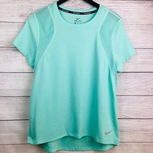 Nike Running Dri-Fit Women's Medium Teal T-shirt